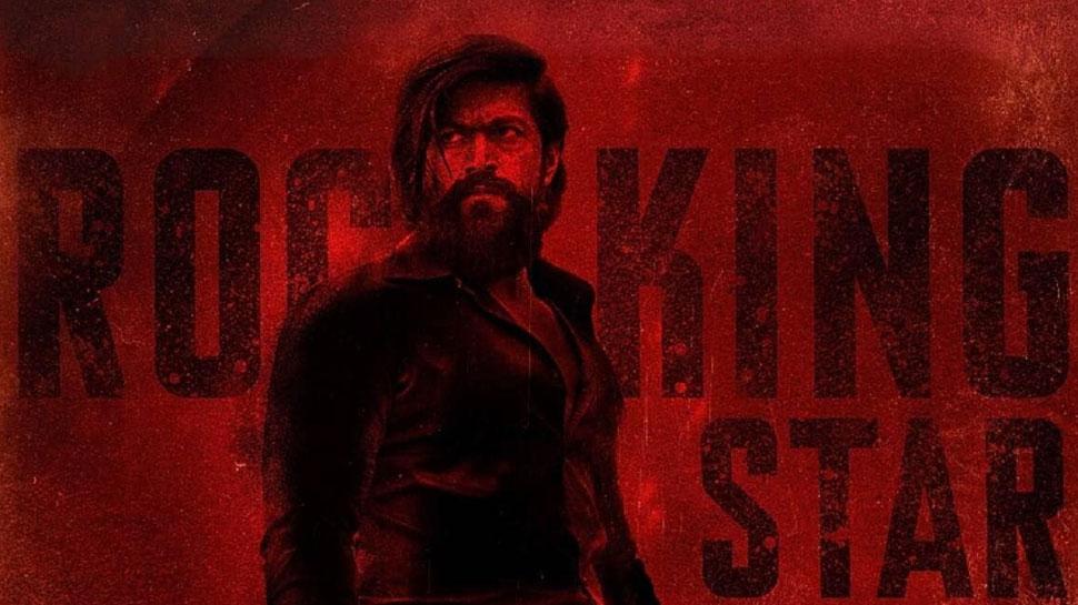 'KGF: Chapter 2' के नए पोस्टर के संग आई ये खबर, लोग बोले- 'सलाम रॉकी भाई'