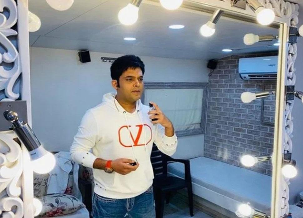 Kapil Sharmas luxurious vanity van
