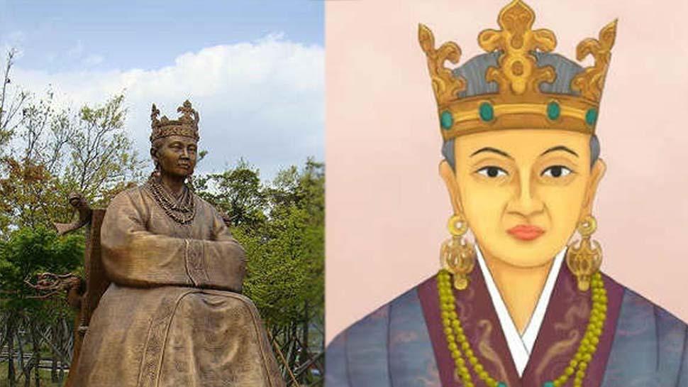 Korea Queen Princess of Ayodhya Suriratna Queen ho statue in Ayodhya Indian Korean Strong Relations upns   एक रानी की कहानी जिसने थाम रखी है भारत-कोरिया के रिश्ते की डोर