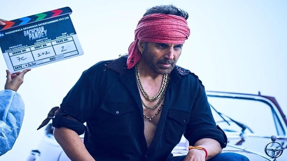 'Bachchan Pandey' के वीडियोज लीक, इस लुक में शूटिंग कर रहे Akshay Kumar