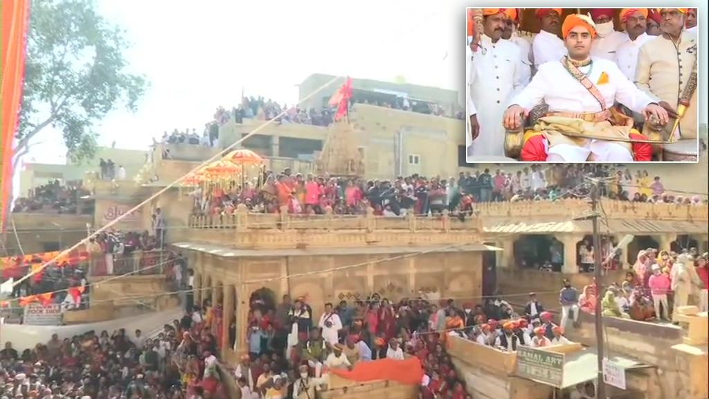 चैतन्य राज सिंह बने जैसलमेर के नए महारावल, हज़ारों की मौजूदगी में इस तरह हुआ राजतिलक