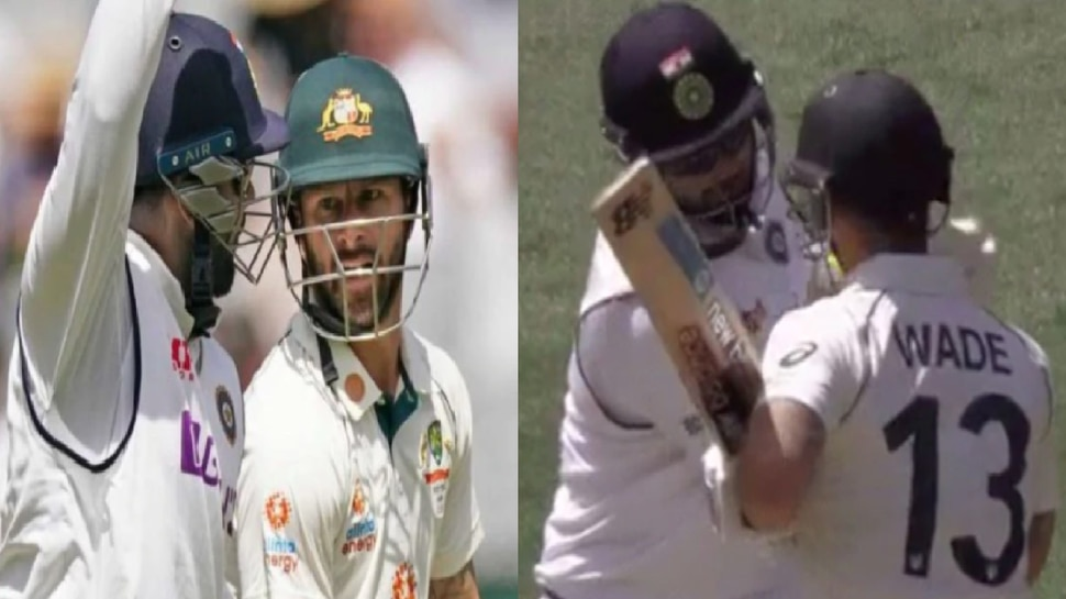 India vs Australia 4th test: Rishabh Pant ने की मैथ्यू वेड की Sledging, Shane Warne और Mark Waugh को आया गुस्सा