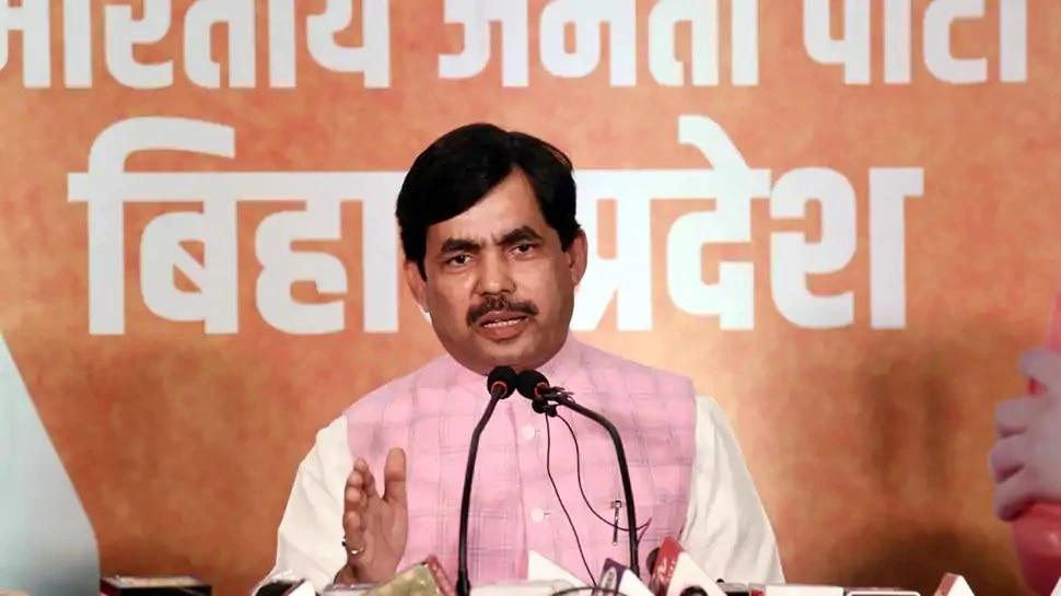 Shahnawaz Hussain बनाएं जाएंगे  MLC, BJP ने बिहार विधान परिषद का बनाया उम्मीदवार