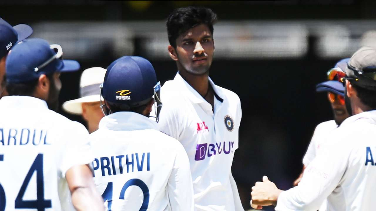 washington sundar levels record of dattu phadkar of 3 wickets and 50 runs  in debut test match | IND VS AUS: Washington Sundar ने तोड़ा 74 सालों का ये  रिकॉर्ड, दुनिया कर