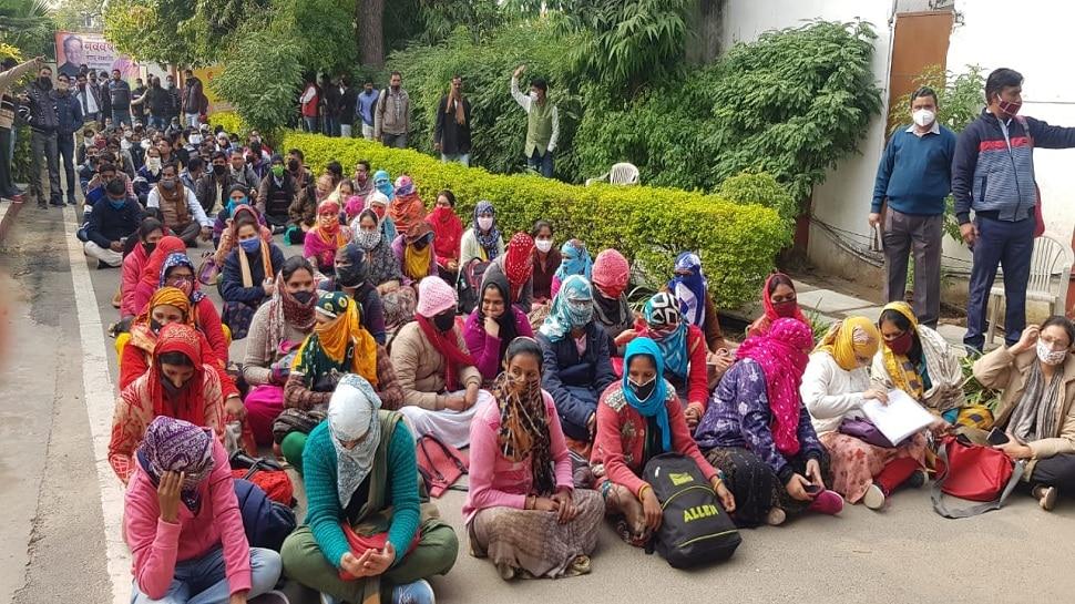 NTT भर्ती में नियुक्तियों को लेकर फिर घमासान, मंत्री Mamta Bhupesh नहीं सुलझा पाई विवाद