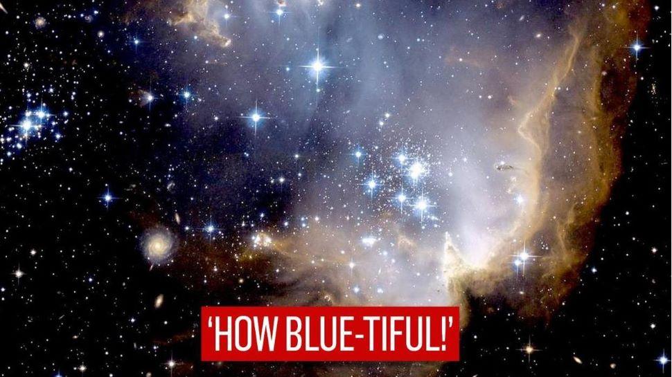 NASA ने शेयर की 5 लाख साल पुराने यंग Star Cluster की एक तस्वीर, लिखा- 'How blue-tiful!'