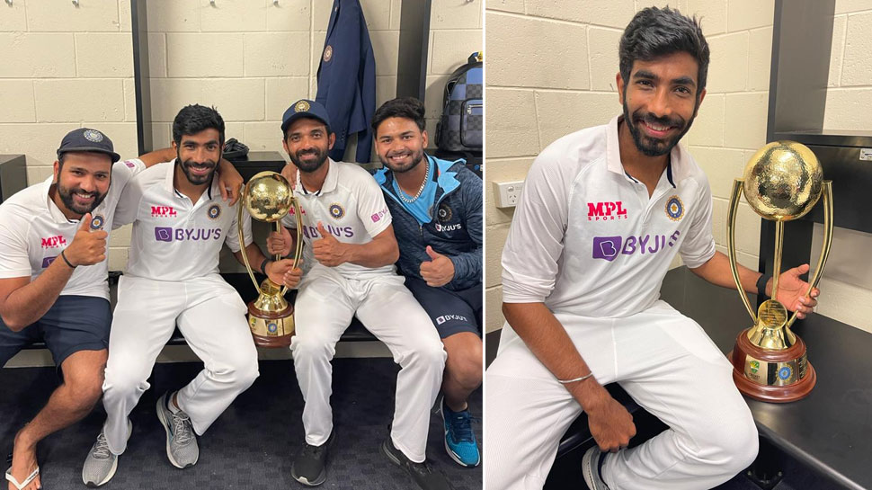 Jasprit Bumrah Border-Gavaskar Trophy