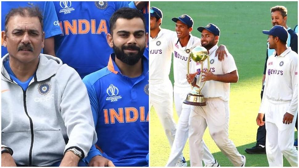 IND vs AUS: Ravi Shastri ने Virat Kohli को दिया जीत का श्रेय