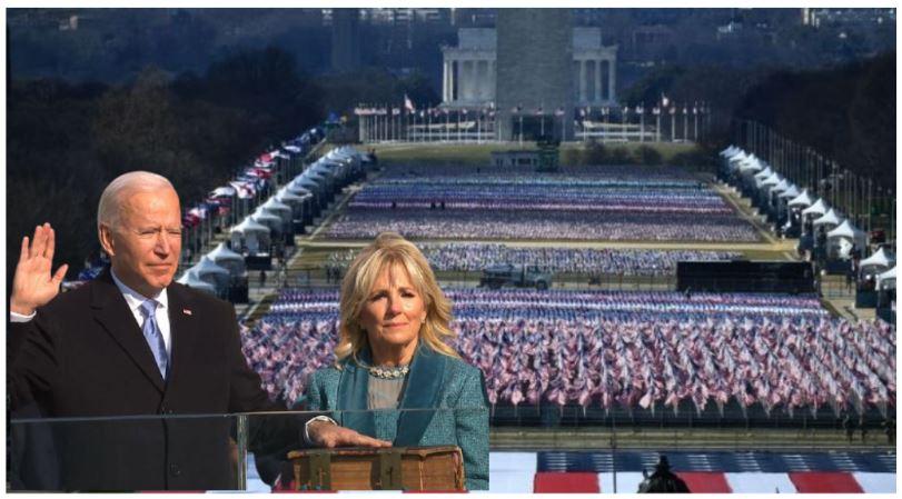 US President Oath: आखिर Joe Biden के सामने क्यों लगाए गए थे दो लाख झंडे?
