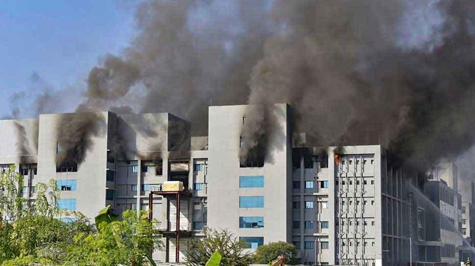 Serum Institute की बिल्डिंग में लगी भीषण आग, 5 लोगों की मौत