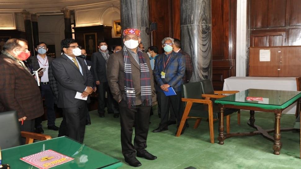 Om Birla ने Budget Session से पहले Parliament House में सुविधाओं का किया निरीक्षण, कहा...