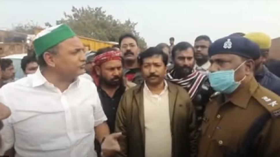 धारा 144 का उल्लंघन कर समर्थकों संग दिल्ली जा रहे थे राजद विधायक, यूपी पुलिस ने भेजा वापस बिहार