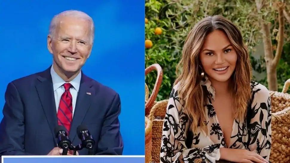 आधिकारिक Twitter अकाउंट POTUS पर 13 लोगों को फॉलो करते हैं Biden, अनुरोध पर मॉडल टीगेन को किया शामिल