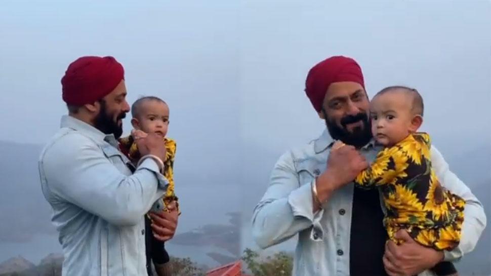 Salman khan ने भांजी को लेकर किया क्यूट डांस, वायरल हुआ ये खूबसूरत Video