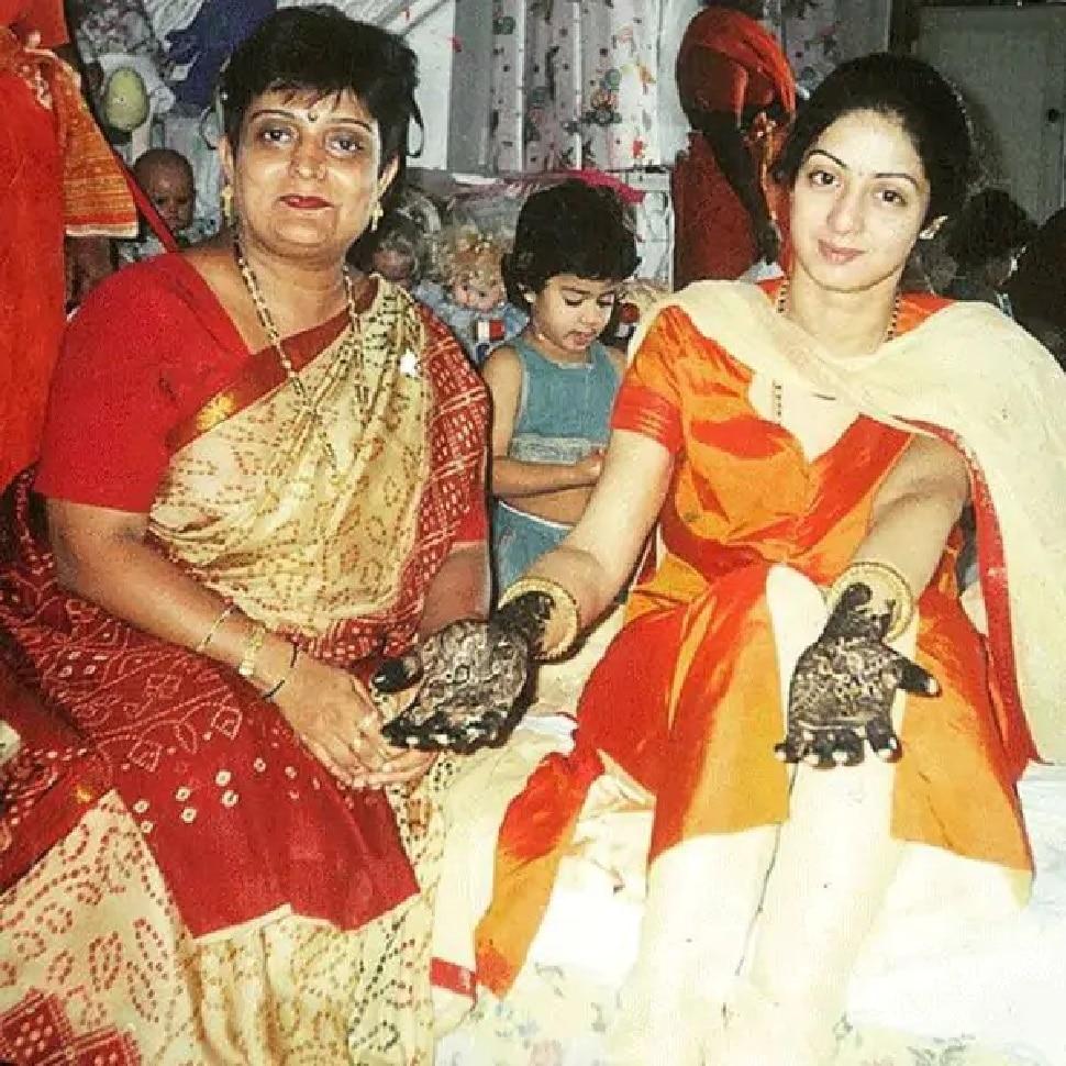 Veena Nagda was Sridevi favorite mehandi artist