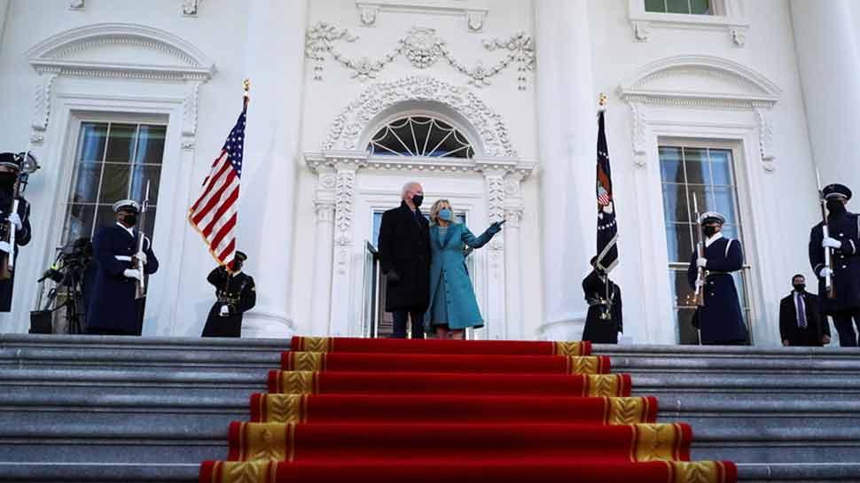 White House के गेट पर ही खड़े रह गए राष्ट्रपति Joe Biden, जाते जाते ट्रंप कर गए ये खेल