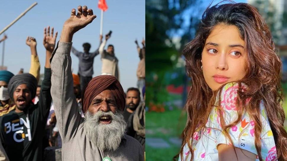 पंजाब में किसानों ने रोकी Janhvi Kapoor की फिल्म की शूटिंग, होटल तक पहुंच गए थे आंदोलनकारी