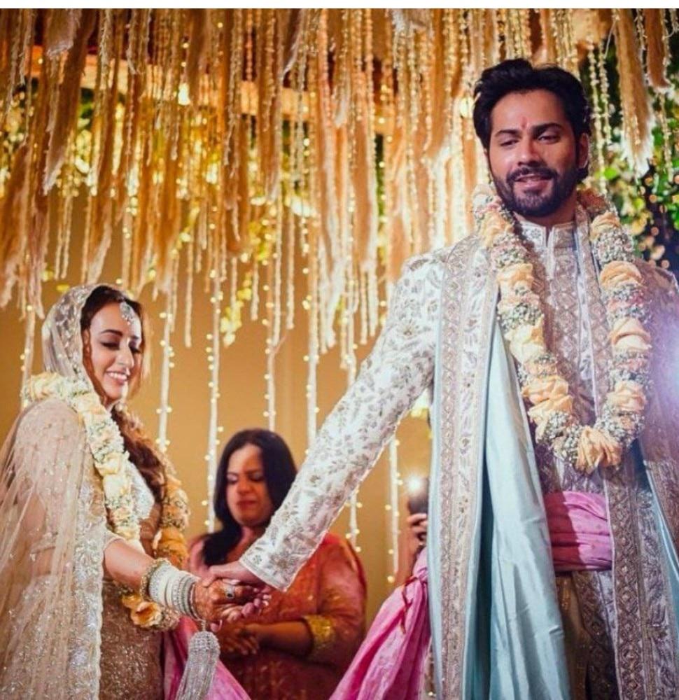 Varun Dhawan Natasha Dalal wedding