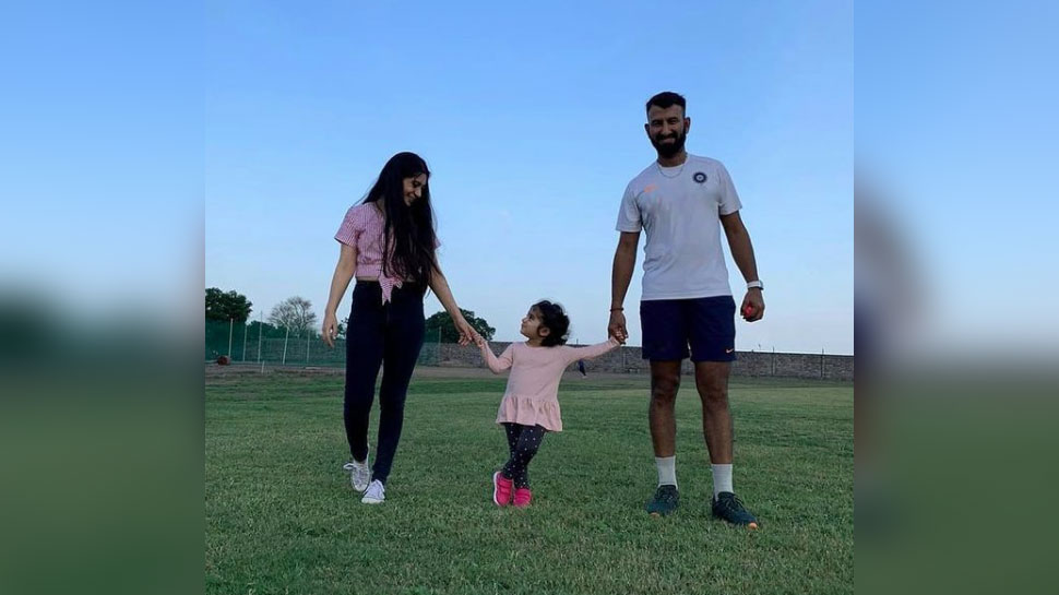 Cheteshwar Pujara get ammused by Daughter comment