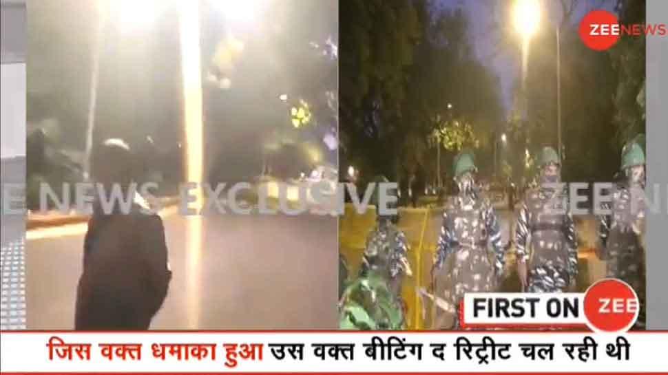Blast In Delhi: इजरायली दूतावास के पास धमाका, मौके पर भारी पुलिसबल मौजूद