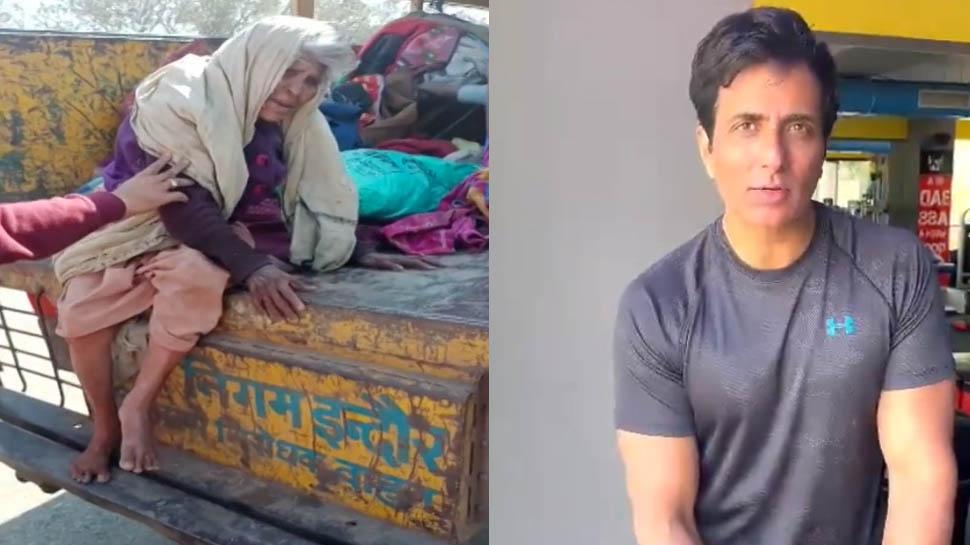 बेघर बुजुर्गों की मदद को आगे आए एक्टर सोनू सूद, इंदौरवासियों से की ये अपील