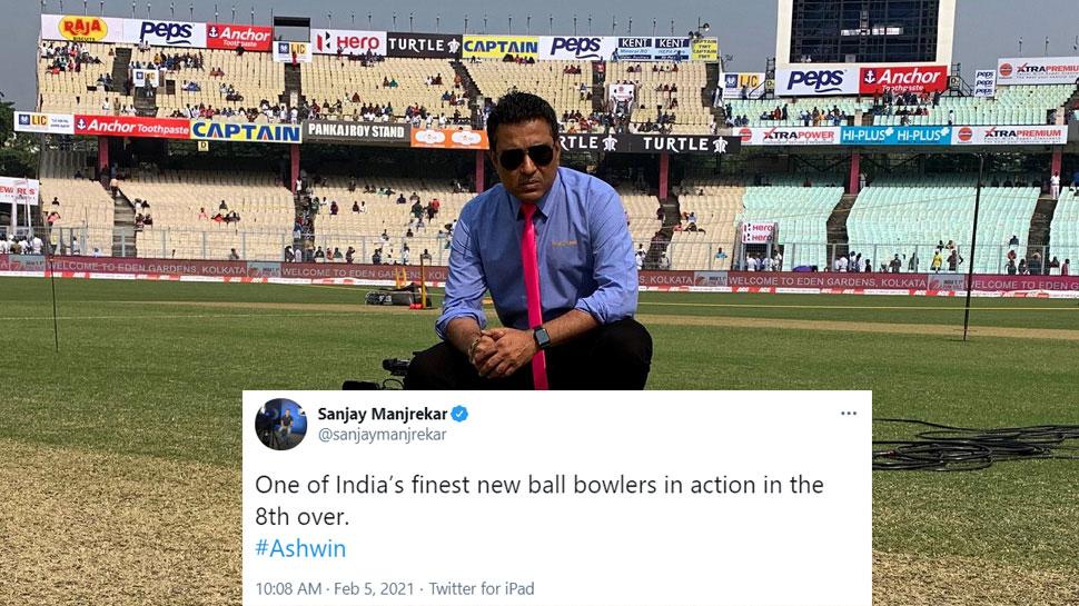 Sanjay Manjrekar on R Ashwin