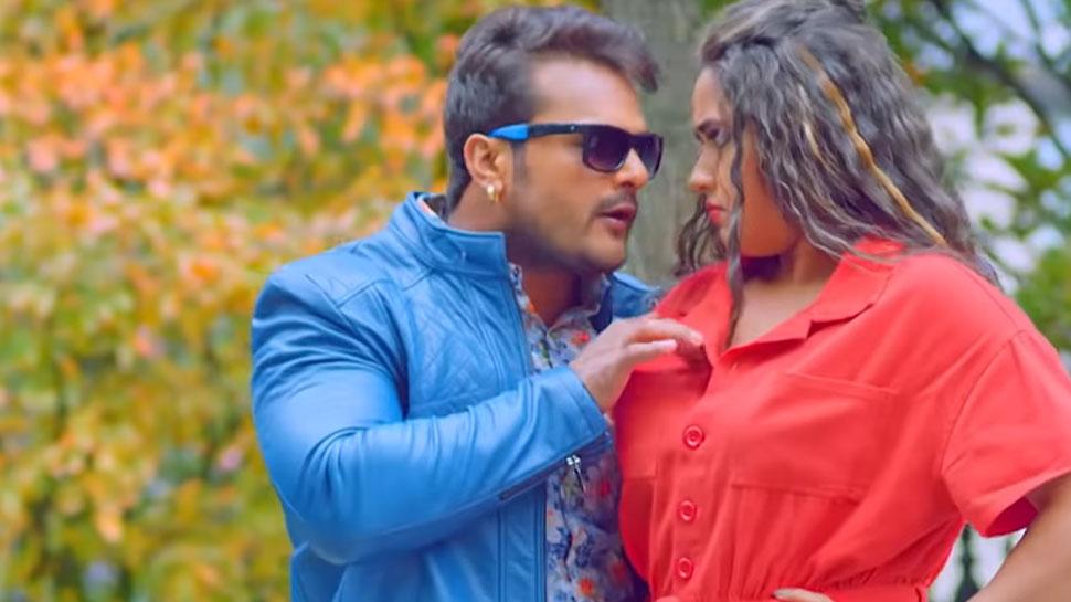 VIDEO: Khesari Lal Yadav और Kajal Raghwani का गाना 'दिल में ढुका के बटाम' हुआ VIRAL