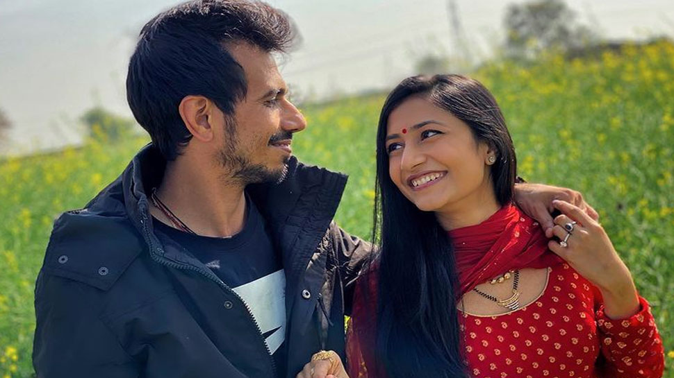DDLJ स्टाइल में Yuzvendra Chahal ने किया ये Romantic Post, Dhanashree के लिए लिखी ये शायरी