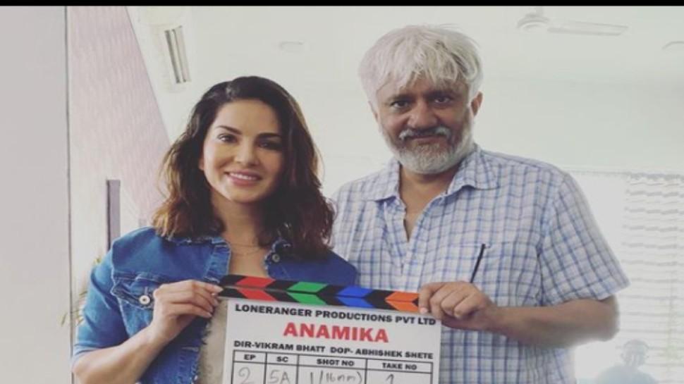 Sunny Leone के Web Show Anamika के सेट पर पहुंचे गुंडे, Vikram Bhatt से की पैसों की मांग