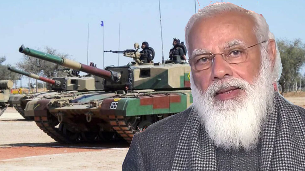 भारत की विश्व मैं सैन्य ताकत और बढ़ेगी, प्रधनमंत्री नरेंद्र मोदी आज सेना को सौपेंगे 118 अत्याधुनिक, अतिशक्तिशाली अर्जुन टैंक|