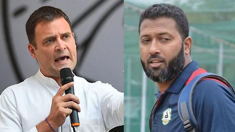 Wasim Jaffer पर इस्लाम को बढ़ावा देने के मामले में आया राजनीतिक मोड़, अब Rahul Gandhi कूदे