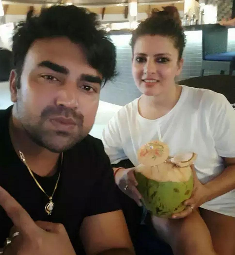 Sandeep Nahar And Wife Kanchan Nahar