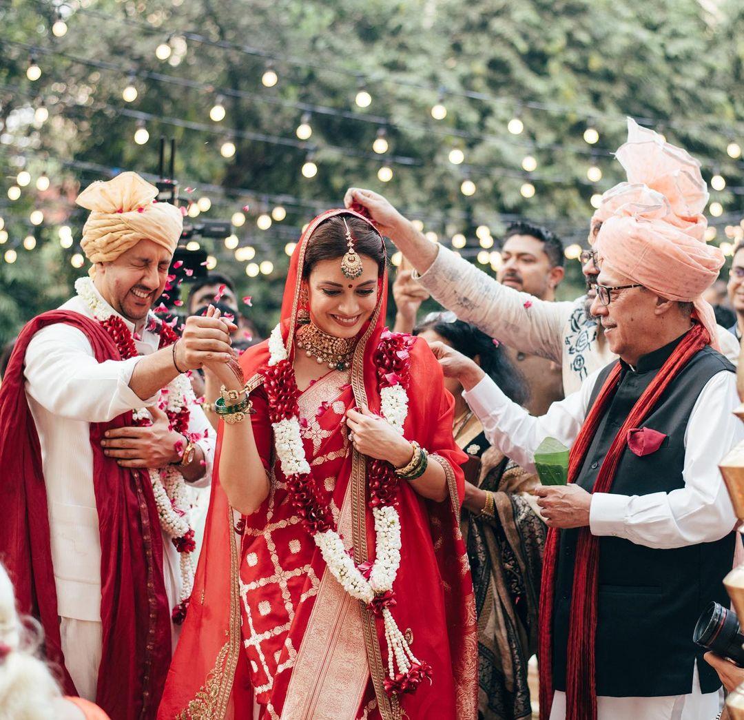 dia mirza wedding inside photos