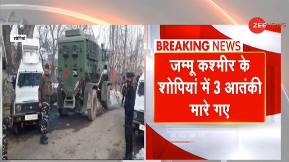 Shopian Encounter: Security Forces ने जम्मू-कश्मीर में मार गिराए LeT के 3 Terrorists