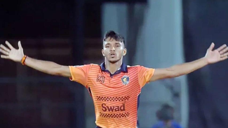 Chetan Sakariya IPL 2020 RCB Net Bowler