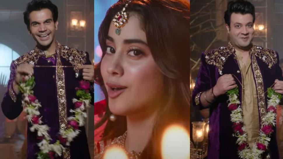 Panghat Song Release: Janhvi Kapoor का ड्युअल लुक देख दीवाने हुए फैन, ऐसा है 'Roohi' का पहला गाना