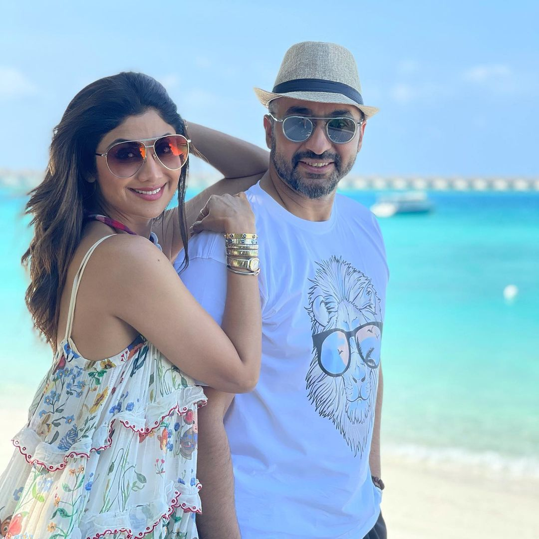 Shilpa Shetty raj kundra maldives vacation