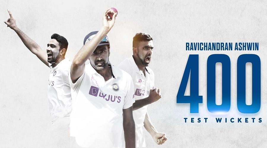 रविचंद्रन अश्विन बने सबसे तेज 400 टेस्ट विकेट झटकने वाले भारतीय, तोड़ा 17 साल पुराना रिकॉर्ड