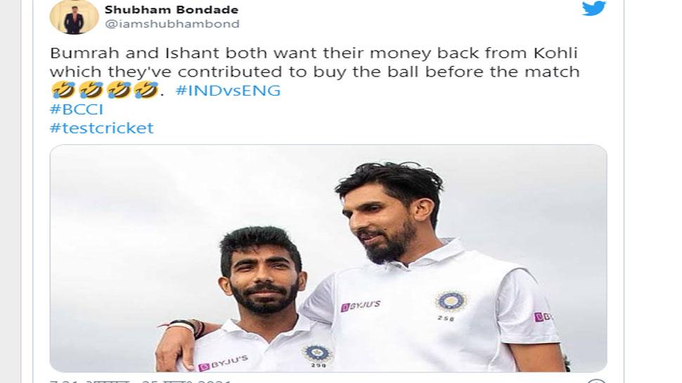 IND VS ENG twitter Memes