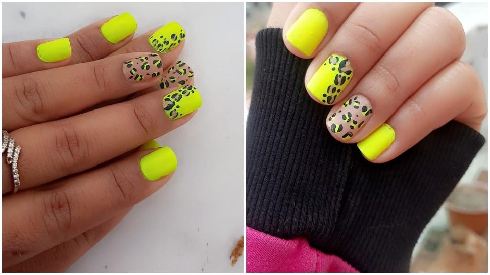 Neon Nail Art Trend