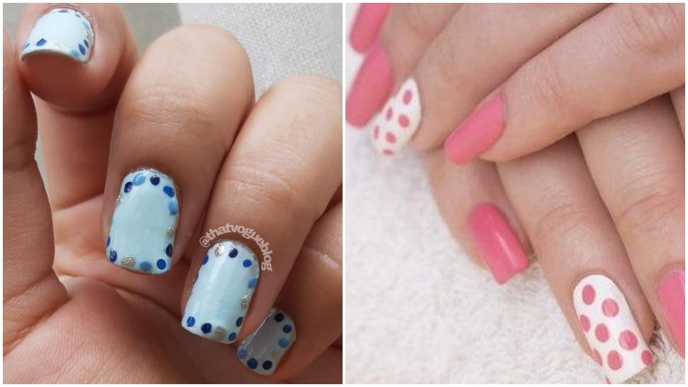 Polka Dots Nail Art Trend