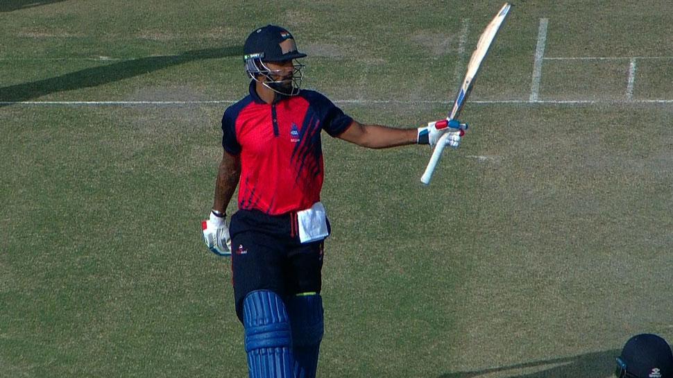 Vijay Hazare Trophy: Shikhar Dhawan का धमाका, 153 रन बनाकर Delhi को दिलाई जीत