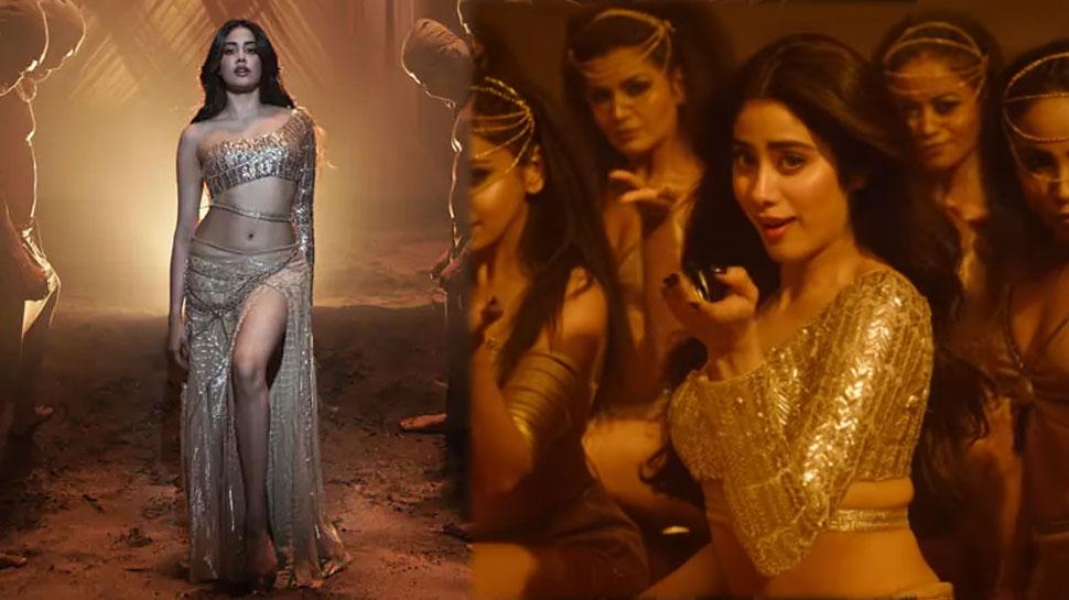 Janhvi Kapoor ने 'Nadiyon Paar' में दिखाए गजब के डांस मूव्स, रिलीज होते ही छाया VIDEO