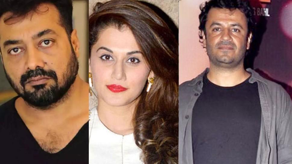 Taapsee Pannu, Anurag Kashyap और Vikas Bahl के ठिकानों पर IT की छापेमारी