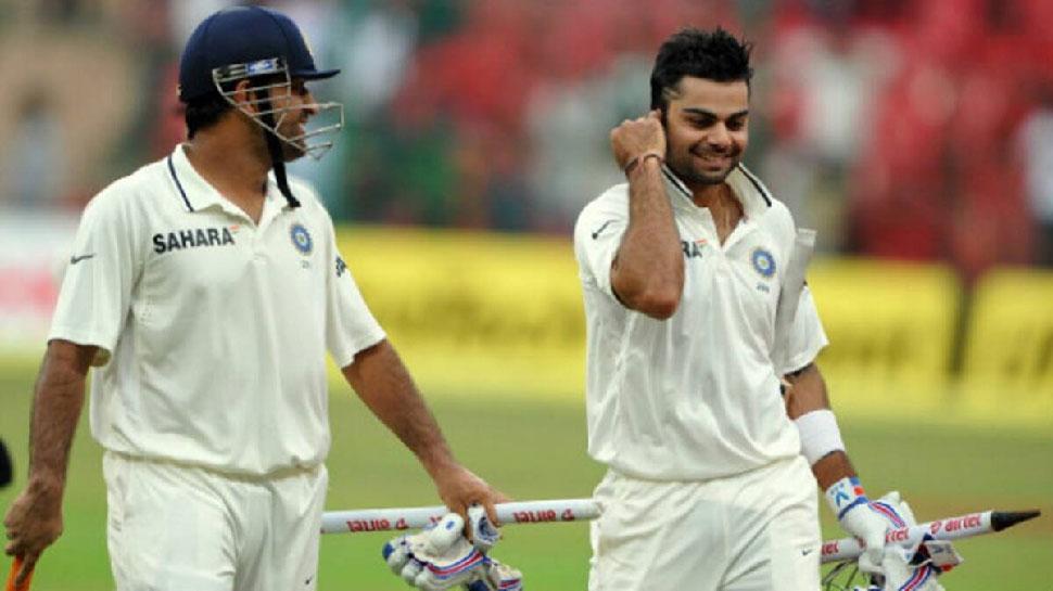 Virat Kohli can equals MS Dhoni's record