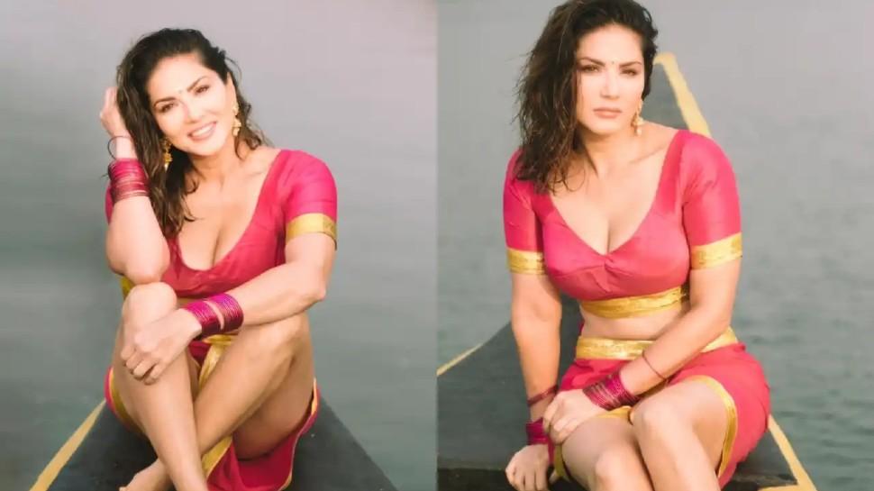 Sunny Leone का South Indian अवतार देख फैंस की बढ़ी धड़कनें, वीडियो हो रहा वायरल