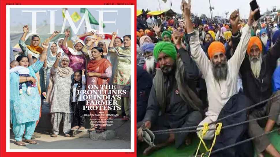 TIME मैगजीन ने अपने कवर पर Farmers Protest में शामिल महिलाओं को दी जगह, लिखी ये बात