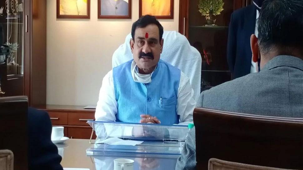 कांग्रेस विधायक के सवाल पर गृहमंत्री नरोत्तम मिश्रा का जवाब, और खुल गई पुलिस मुस्तैदी की पोल