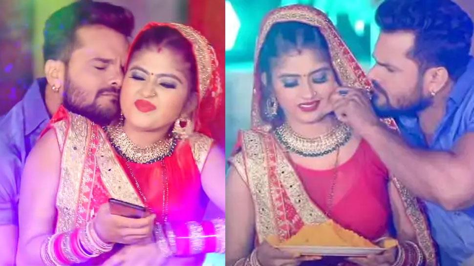 Khesari Lal Yadav ने भाभी संग खेली ऐसी होली, Viral हुआ 'Devra Gal Misi Misi' का VIDEO