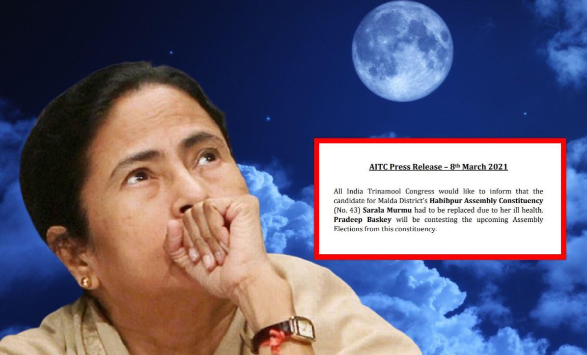 Bengal Election: TMC ने सरला मुर्मू से टिकट वापस लिया, BJP में होंगी शामिल!
